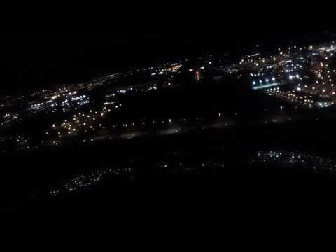 Citation jet 3 night landing at Dublin
