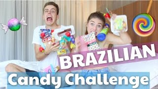 BRAZILIAN CANDY CHALLENGE 😂   Julienco