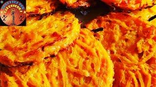 Galettes De Patate Douce Pour 7 galettes Ingrédients - 1 moyenne pa...