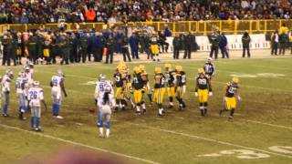 Green Bay Packers vs Detroit Lions -2014- Live at Lambeau Field