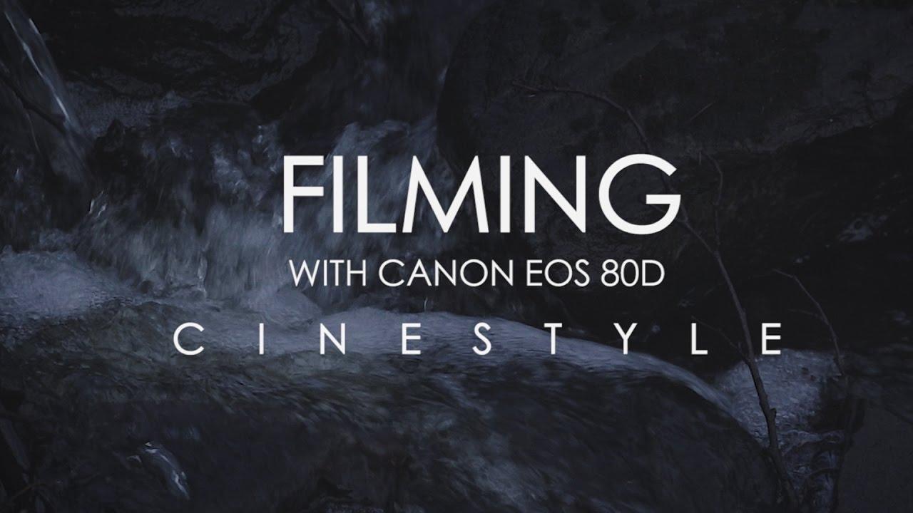 Скачать cinestyle для canon