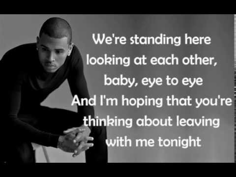 New Flame - Chris Brown [Lyrics]