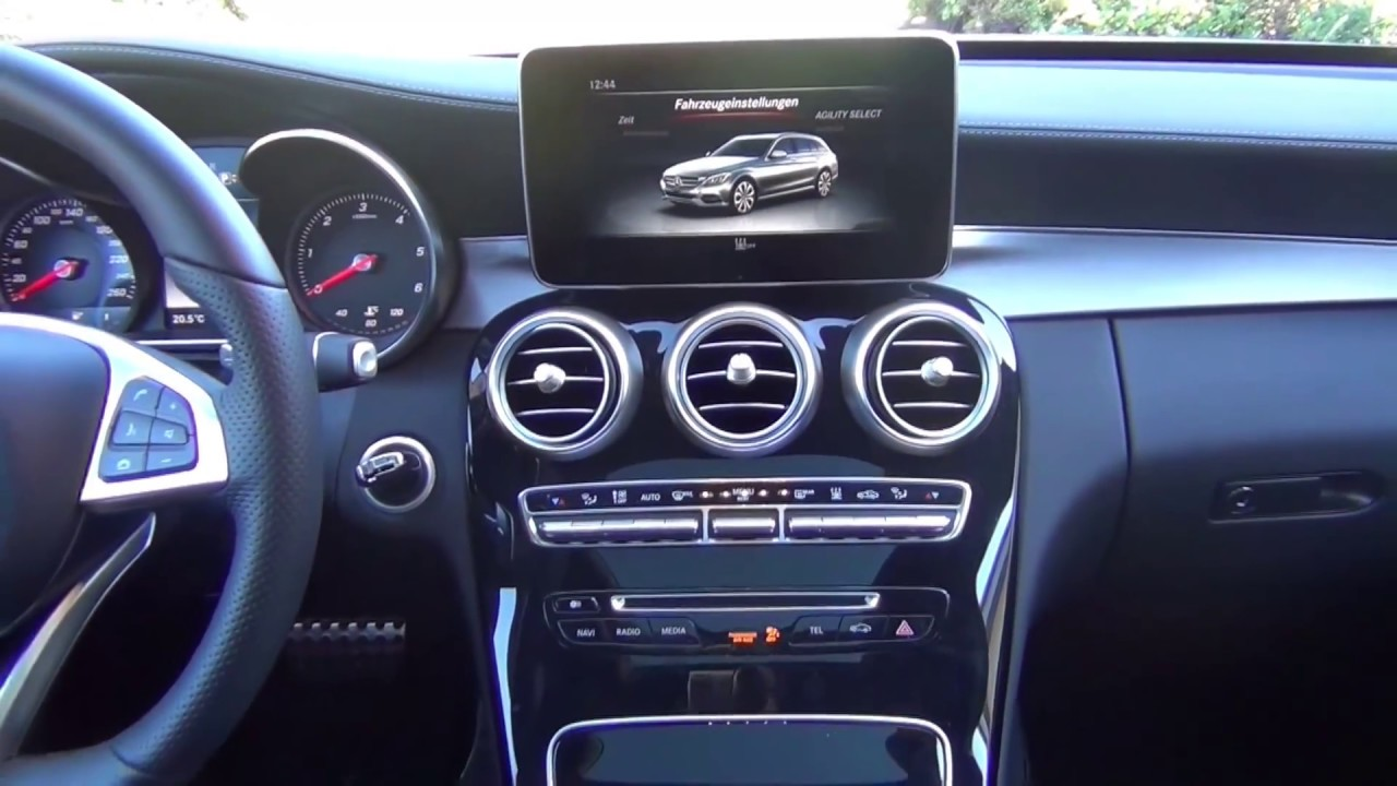 mercedes benz c klasse w205 t modell 2015 youtube