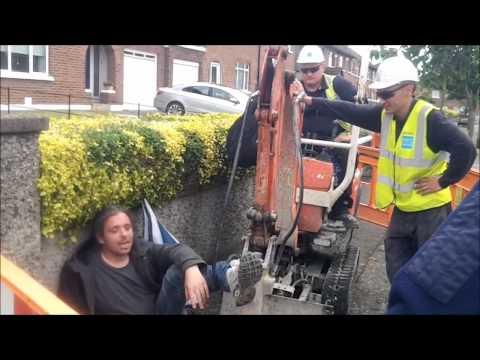 Stop the digger - #IrishWater meter resistance