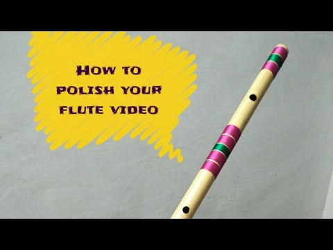 How to polish on flute video no 2