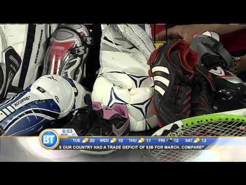 Donate Your Used Sports Gear! - May 5th