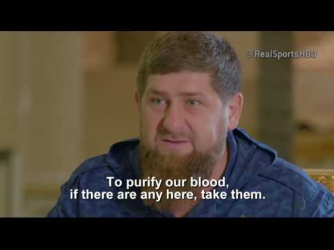 Kadyrov - Take the Gays to Canada