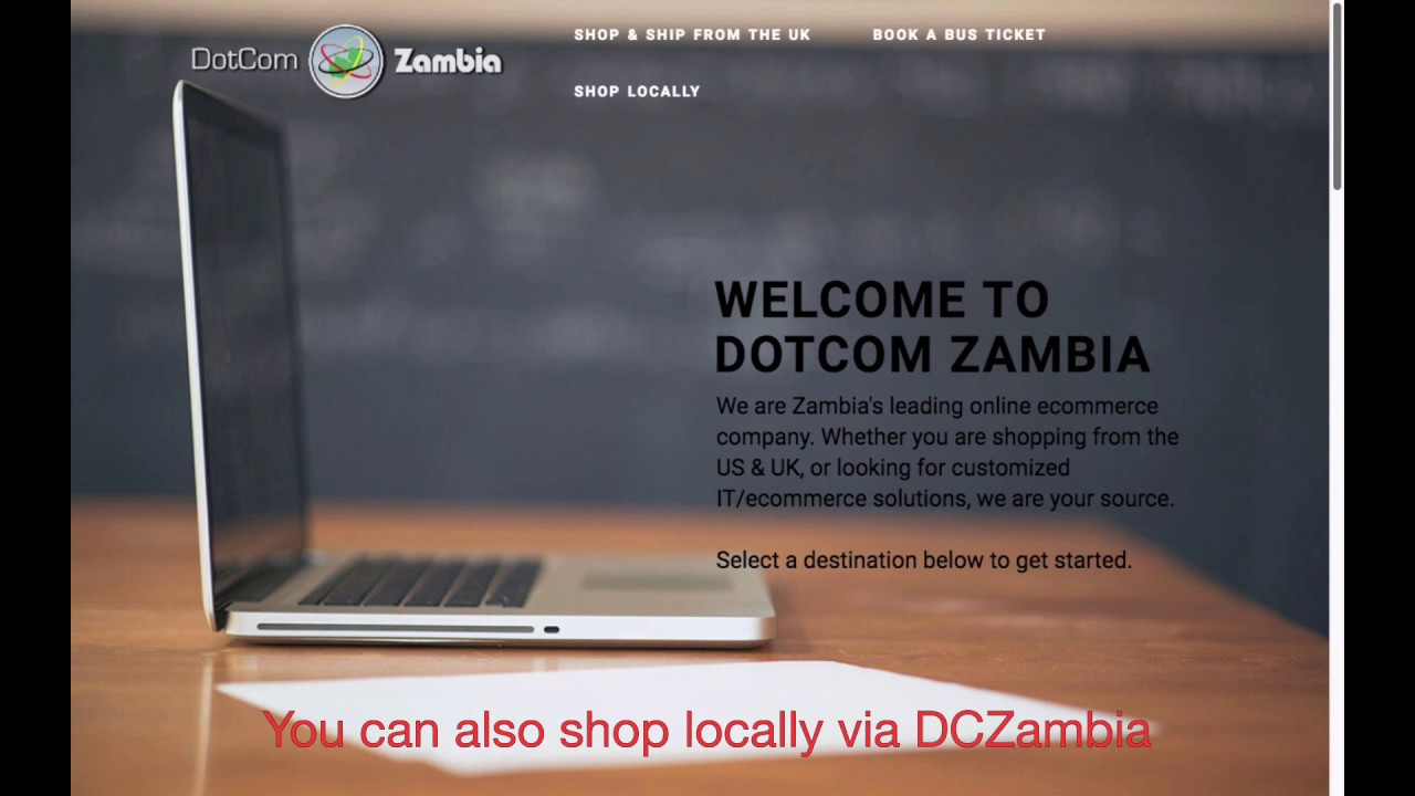 HOW TO SHOP ONLINE with Dot Com Zambia (Part 2)// ZAMBIA