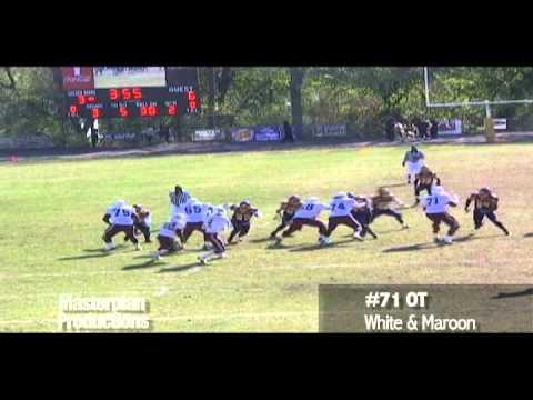 2011 Draft Prospect - OT Miles Stroter Run Plays