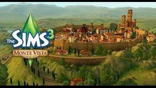 The sims 3 - Monte Vista detalhes e primeira gameplay