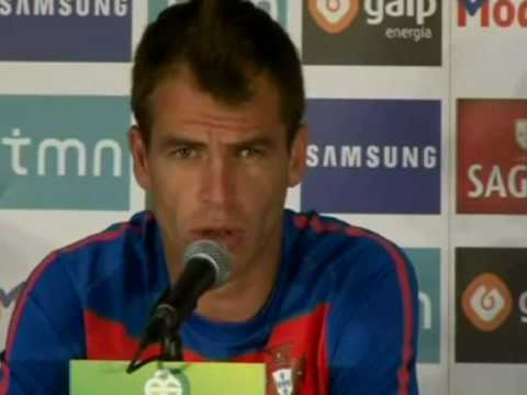 FIFA World Cup 2010 - Portugal midfielder Duda talks about the 7-0 and a point vs Brazil