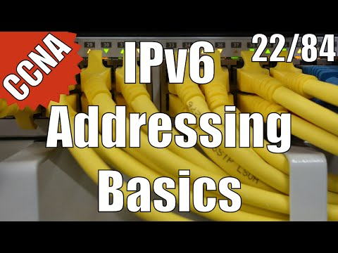 CCNA/CCENT 200-120: IPv6 Addressing Basics 22/84 Free Video Training Course