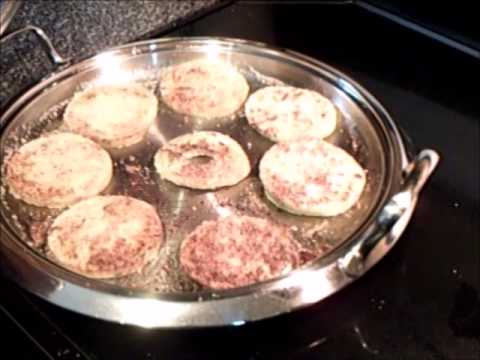 Healthy Fried Green Tomatoes