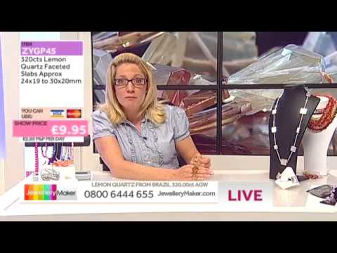'How to Make Chip and Nugget Jewellery': JewelleryMaker LIVE 9/07/2014