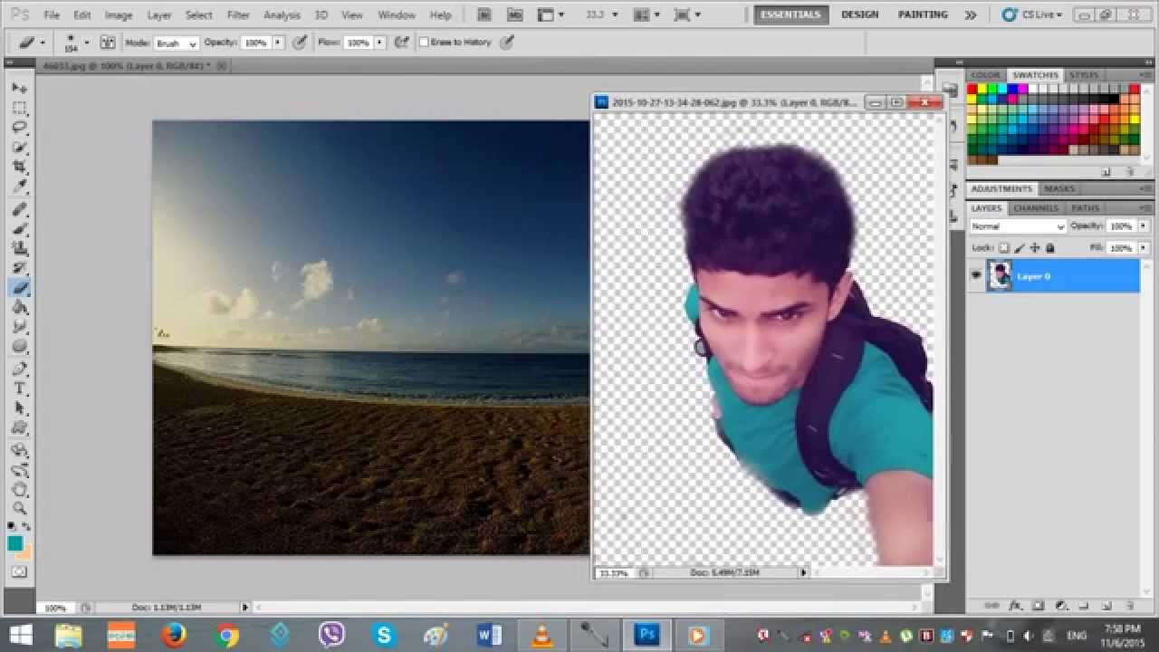 How To Edit Photo With Photoshop Cs5