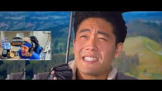 Ninja Reacts to FORTNITE The Movie (Official Fake Trailer) by nigahiga