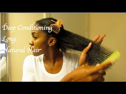 How To Deep Condition Natural Hair African American Hairstyle