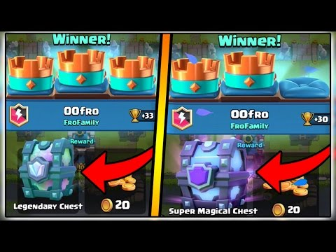 HOW TO GET A FREE LEGENDARY CHEST AND SUPER MAGICAL CHEST IN CLASH ROYALE | FREE LEGENDARY CARD!