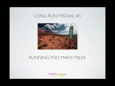 Running Class: The 7 Most Common Long Run Mistakes and How to Making Them