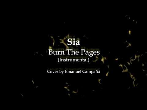 Sia - Burn The Pages (Instrumental) Karaoke