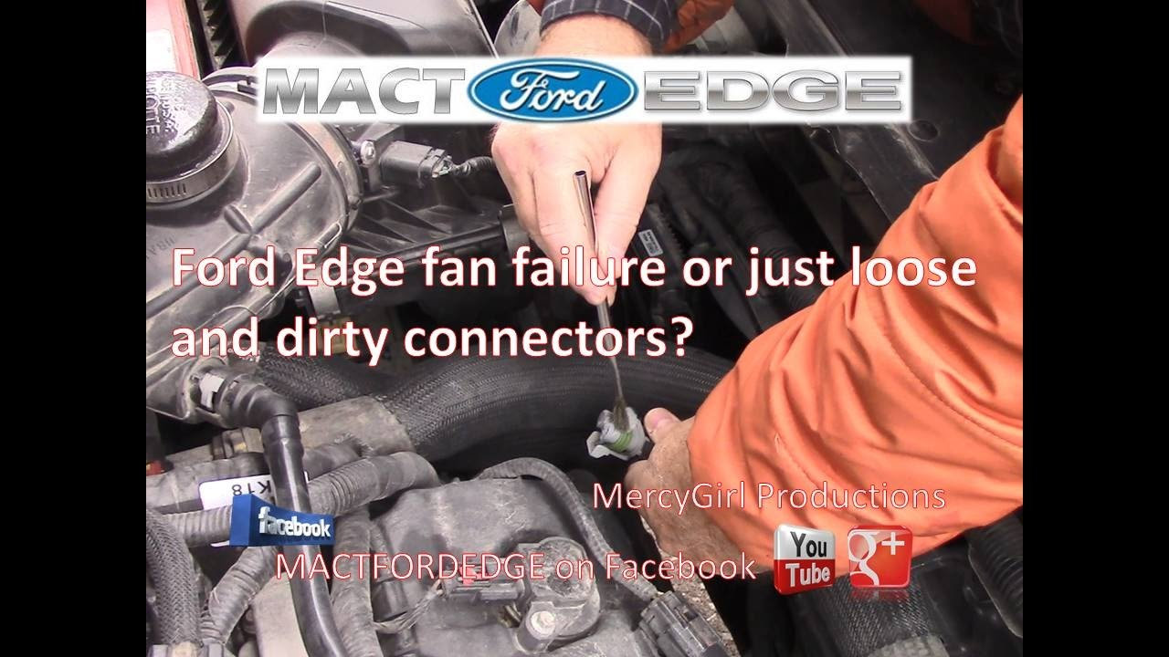 small resolution of ford edge 3 5 duratec fan failure or bad connectors
