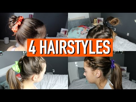 4 Incredible Gymnastics Meet Hairstyles!