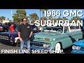 SEMA 2018 Finish Line Speed Shop?s 1966 GMC Suburban