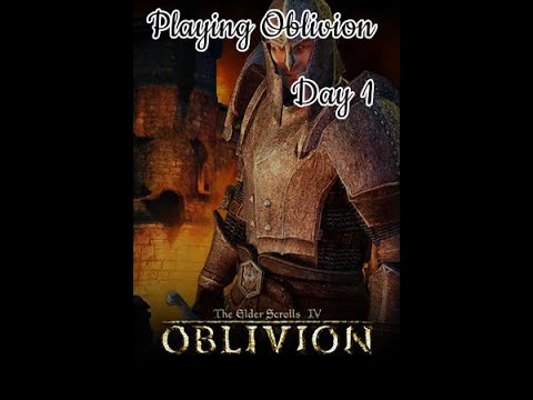 Playing Oblivion // The Elder Scrolls IV // Day 1 |