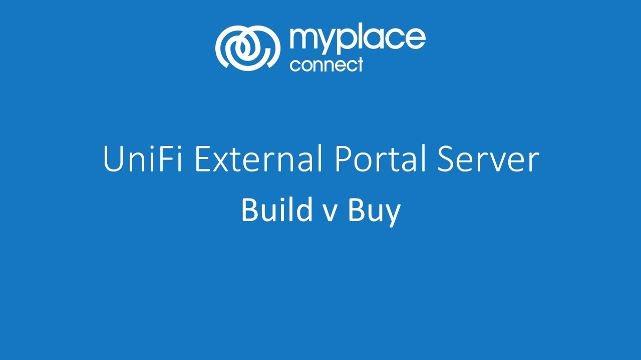 External Portal Server for UniFi - Build vs Buy - Find Out