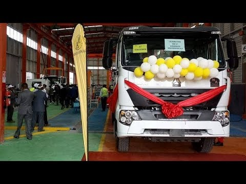 Ethiopia: N.A. Metal Industry & Engineering Co. (Sinotruk Assembly Plant) Starts Operation