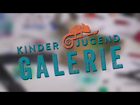 Kreatives Gestalten in der Kinder- und Jugendgalerie in Wiesbaden