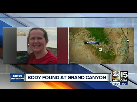 Crews locate body of missing woman at Grand Canyon