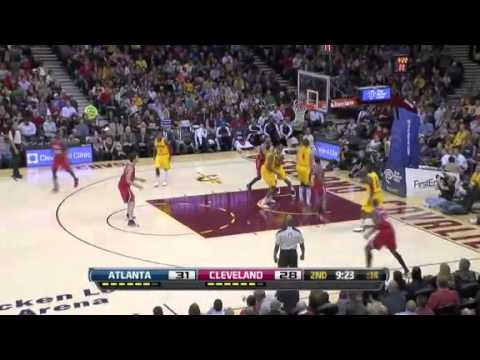 Teague REVERSE Attack | Atlanta Hawks Vs Cleveland Cavaliers | 12/28/2012 | NBA Season 2012/13