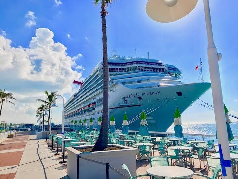 Carnival Freedom Cruise - Ship pictures and Videos! October 2017
