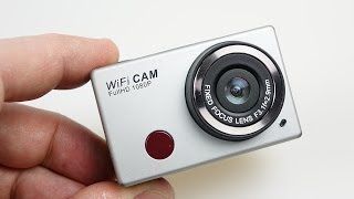 WDV5000 Budget WiFi Action Camera Review - is it better than the SJ4000?