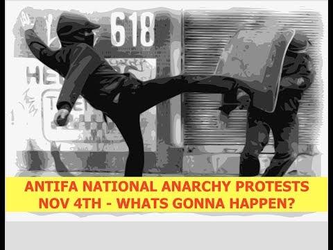 ANTIFA, Civil War Agenda, Plans for Nationwide Anarchy November 4th