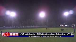 Section V Soccer ..::.. Naples vs. Red Creek ..::.. 10/27/12