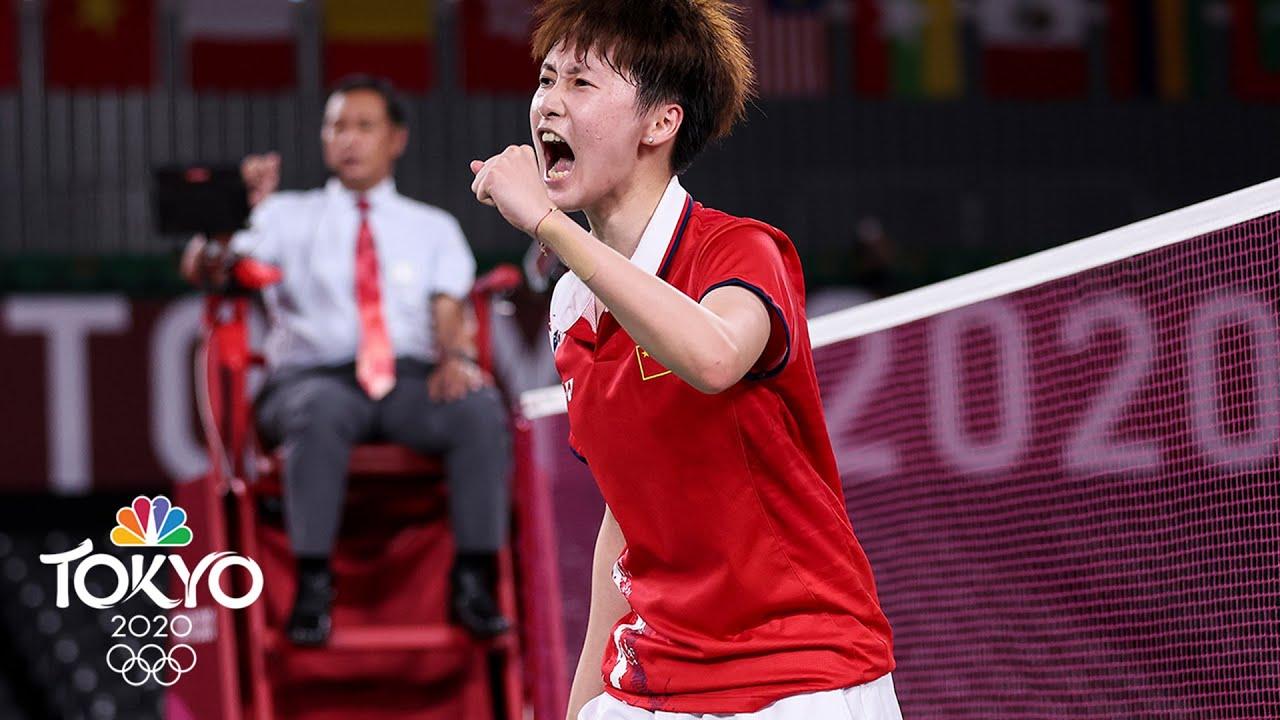 Chen Yufei wins badminton gold in titanic 1 vs. 2 showdown | Tokyo Olympics | NBC Sports