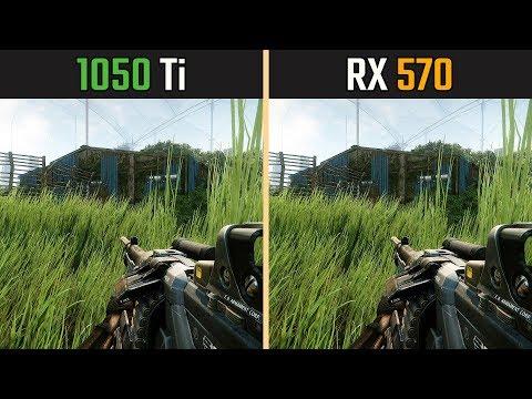 GTX 1050 Ti vs. RX 570 (Test in 9 Games)