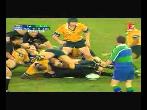 Rugby Union, 2003 Semi Final, New Zealand Vs Australia At Sydney Part 1.