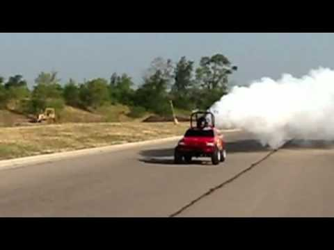 Jet Engine Powered Go Kart Truck - MICRO MONSTER - World's ...