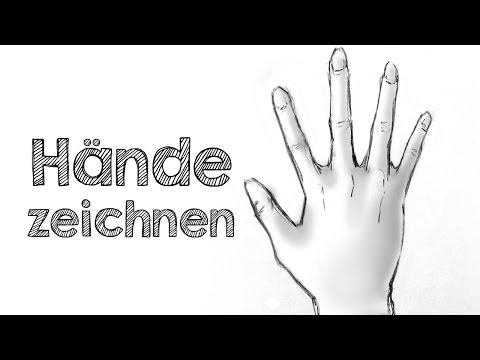 Hände zeichnen – Der EINFACHSTE Weg!