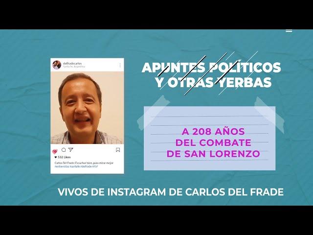 Apuntes políticos - A 208 años del combate de San Lorenzo