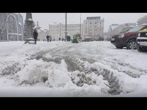 АТН Харьков: Снег продолжает укрывать Харьков и область - 12.02.2020