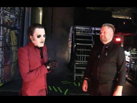 Ghost give a very rare peek behind the curtain with the Cardinal himself