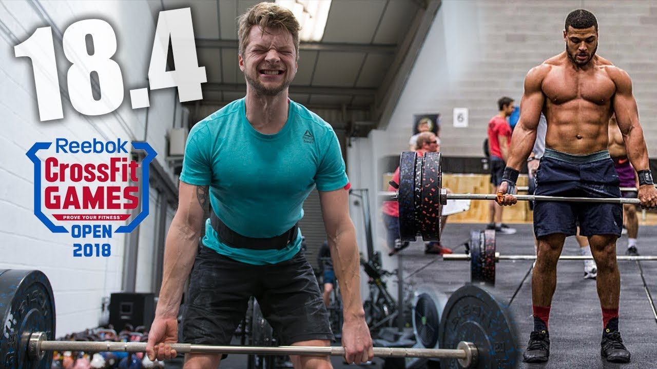 Crossfit Open Workout 18 4 With Zack George Youtube