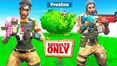 SNEAKING into a DEFAULT ONLY Fortnite Server...
