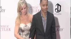 Men Of Honour star Cuba Gooding Jr. with his wife Sara Kapfer and editor-in-chief o
