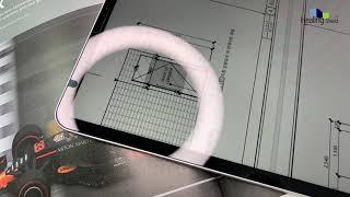 아이패드 프로 4세대 고광택 액정 보호필름