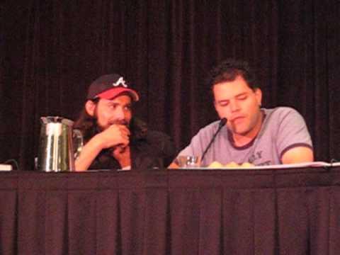Aaron Douglas on Battlestar Galactica Panel at Dragon*Con